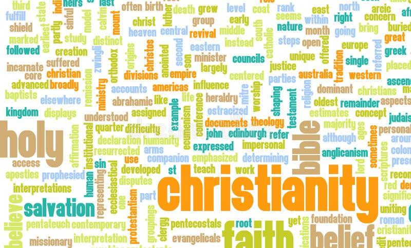 Christianisme illustration stock