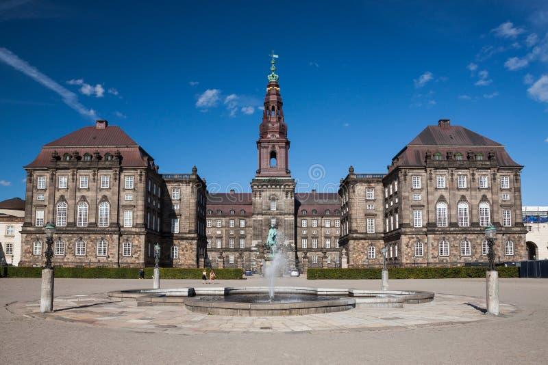 christiansborg哥本哈根宫殿 图库摄影