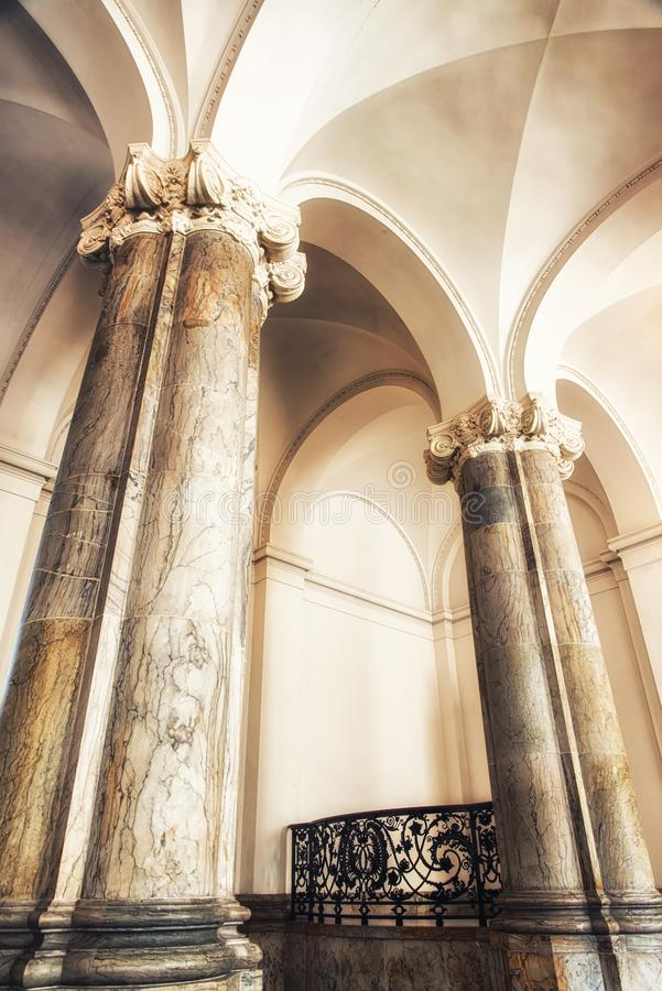 Christiansborg宫殿,哥本哈根,西兰,丹麦,欧洲 免版税库存照片