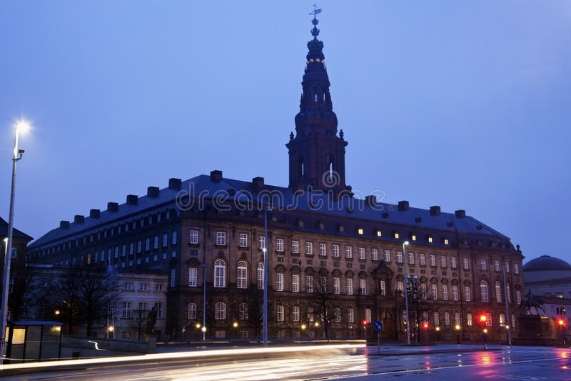 Christiansborg Kasztel fotografia stock