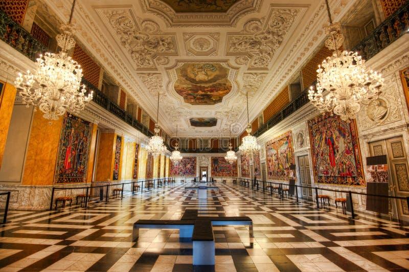 Christiansborg pałac fotografia stock