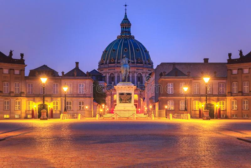 Christiansborg slott i Köpenhamnen, Danmark arkivfoto