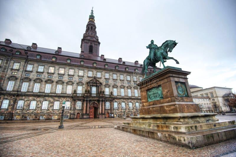 Christiansborgpaleis royalty-vrije stock afbeelding