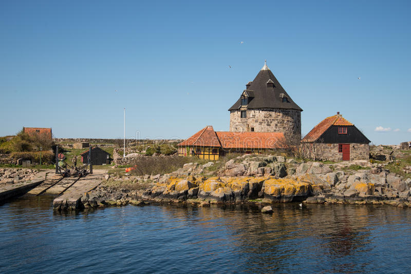 Christianso. Is a group of small islands not far from Bornholm, Danmark. There are only 100 inhabitants. There are not many tourists. The islands are placed on stock photography