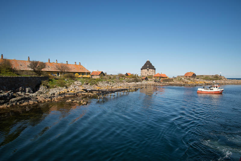 Christianso. Is a group of small islands not far from Bornholm, Danmark. There are only 100 inhabitants. There are not many tourists. The islands are placed on stock images