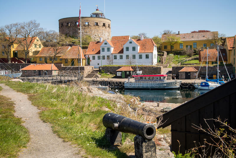Christianso. Is a group of small islands not far from Bornholm, Danmark. There are only 100 inhabitants. There are not many tourists. The islands are placed on stock photos