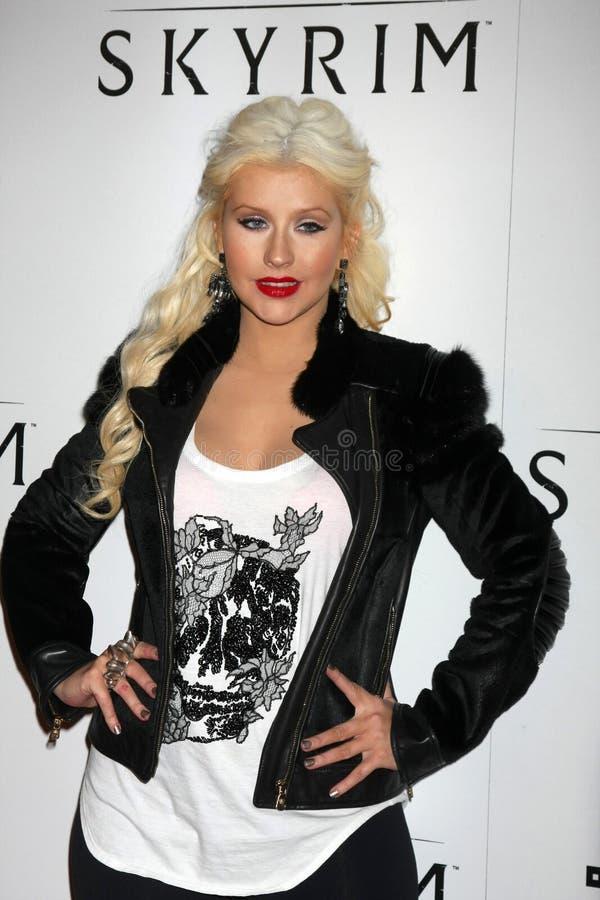 Christina Aguilera images stock
