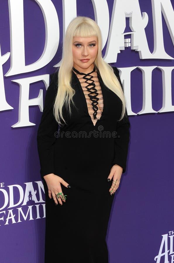 Christina Aguilera stock photos