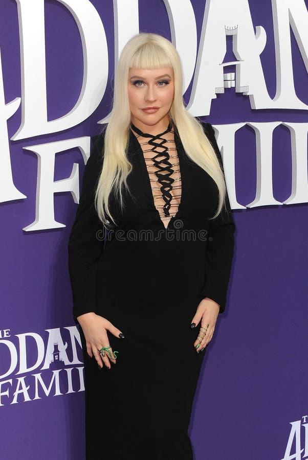 Christina Aguilera royalty free stock images
