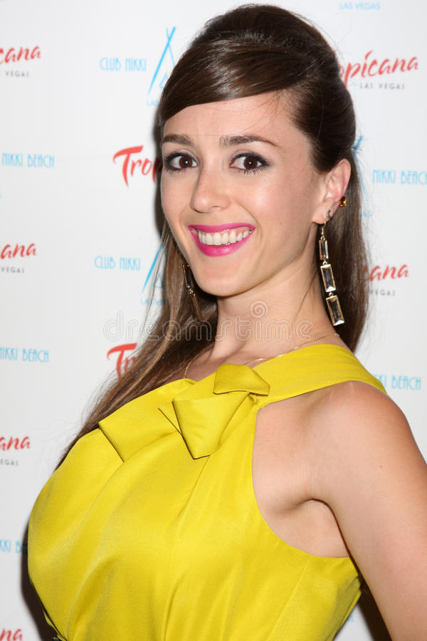 Christina Bennett Lind Arriving At The Innovative Artists Pre-Emmy Party Editorial Photo