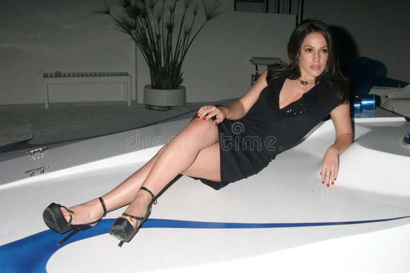 Download Christina DeRosa At The Mansion Party Hosted By British Talk Show Host Jacquie Blaze. Private Residence, Beverly Hills, CA. 12-07- Editorial Stock Image - Image: 24197054