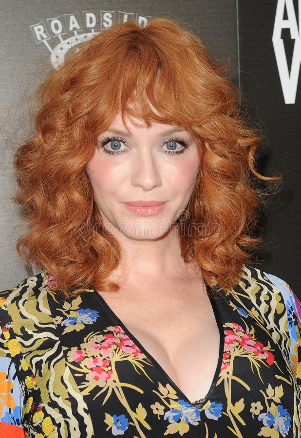 Christina Hendricks image stock