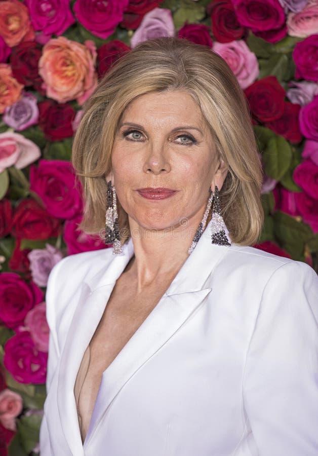 Christine Baranski en Tony Awards 2018 imagen de archivo