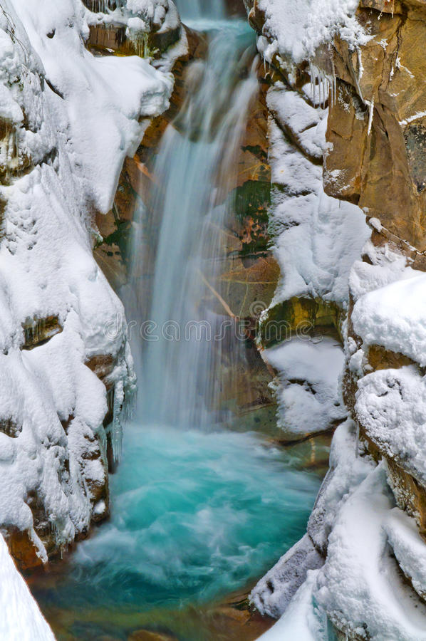 Download Christine Falls in Winter stock photo. Image of national - 24285224