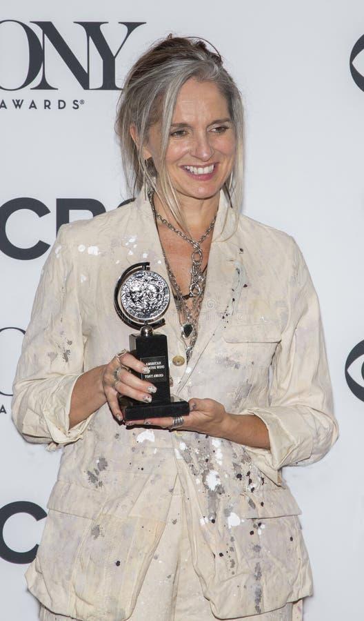 Christine Jones chez Tony Awards 2018 photos stock