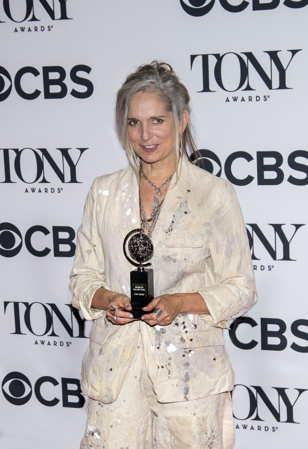Christine Jones em Tony Awards 2018 imagens de stock royalty free