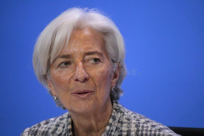 Christine Lagarde immagini stock