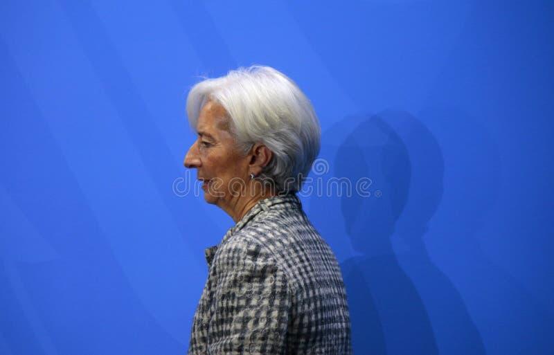 Christine Lagarde image libre de droits