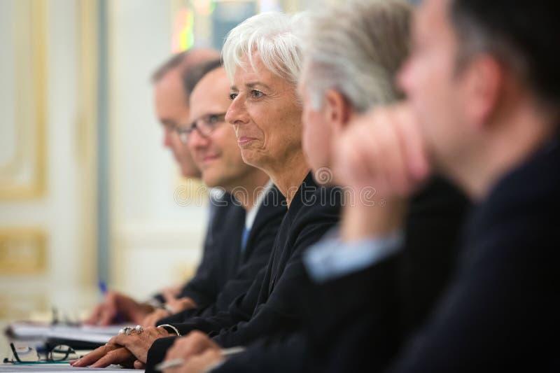 Christine Lagarde photographie stock