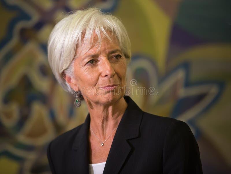 Christine Lagarde photo stock