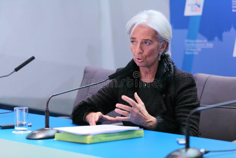 Christine Madeleine Odette Lagarde royalty-vrije stock fotografie