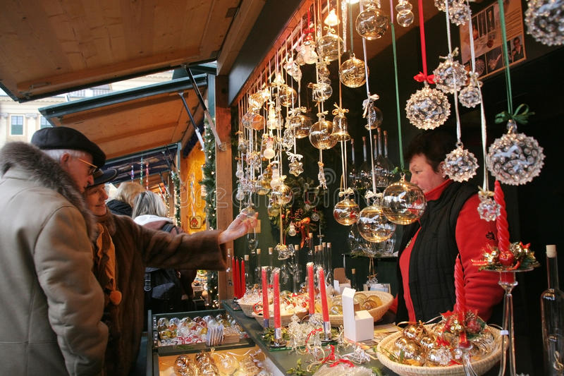 Christkindlmarkt - Vienna Christmas Market stock photos