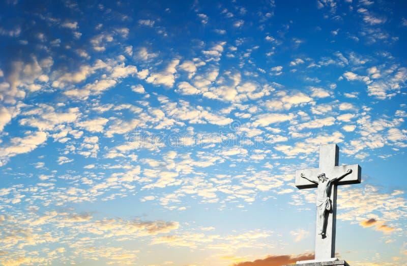 Christlicher Querhintergrund lizenzfreie stockfotografie