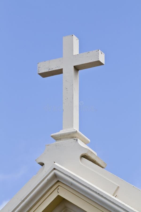 Christliches Kreuz stockfotos