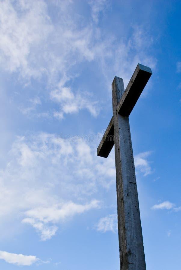 Christliches Kreuz stockbild