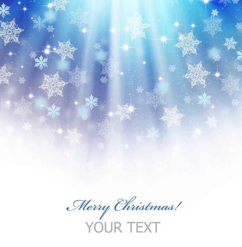 Christmas. Beautiful Christmas Border.Isolated on white royalty free illustration