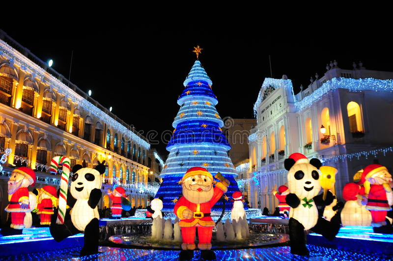 Download Christmas 2010 in Macau editorial photography. Image of christmas - 18403422