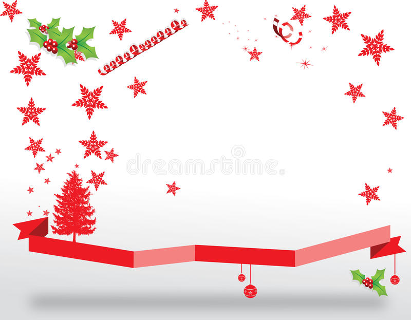 Christmas. Old paper abstract Christmas background. Greeting card illustration vector illustration