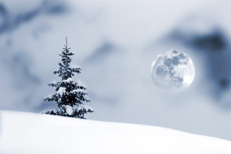 Download Christmas stock illustration. Image of switzerland, moon - 22396230