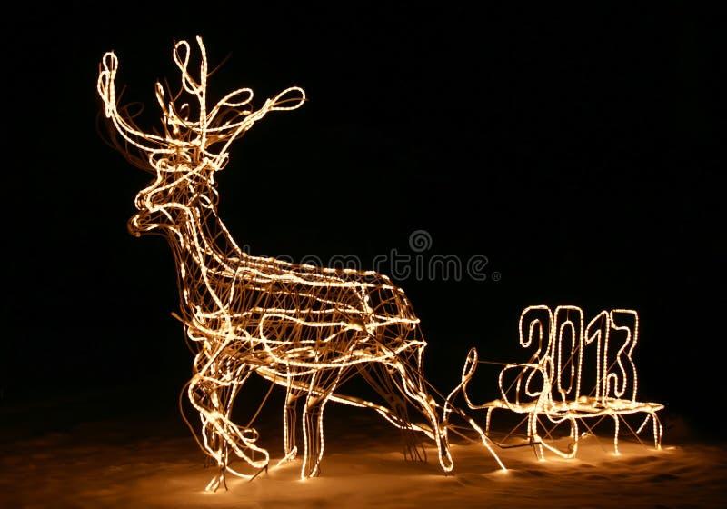 Download Christmas stock image. Image of sled, seasonal, magic - 28136163