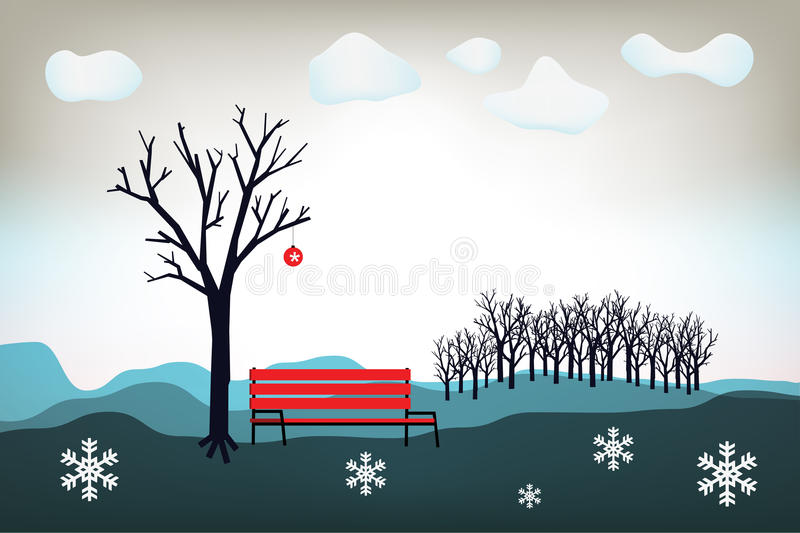 Download Christmas stock vector. Image of christmas, landscape - 28681970