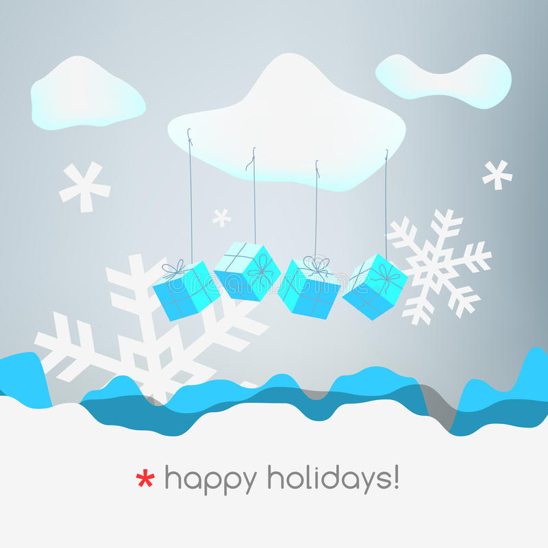 Download Christmas stock vector. Image of greeting, december, card - 28681982