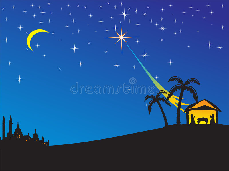 Download Christmas stock vector. Image of christmas, cattle, child - 3808567