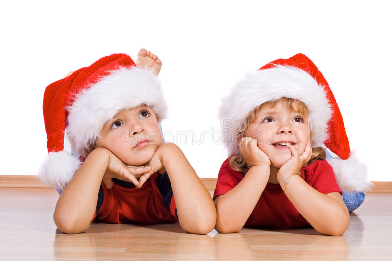 Christmas is.... stock photos