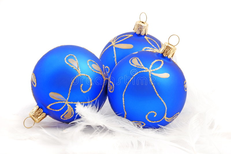 Christmas. Tree ball on white background royalty free stock images