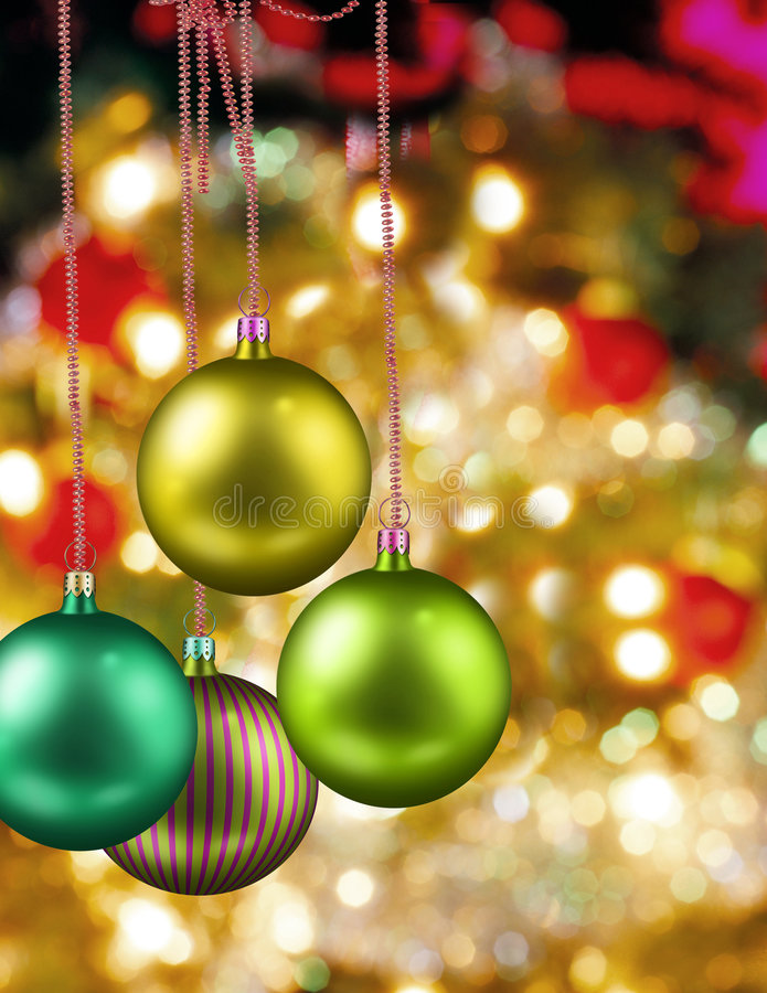 Christmas. Winter background with christmas trees royalty free stock image