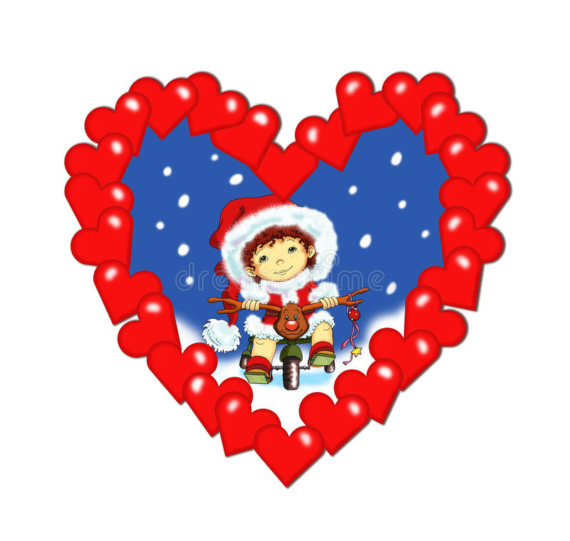 Free Christmas, A Heart Of Wishes Royalty Free Stock Photography - 12039467