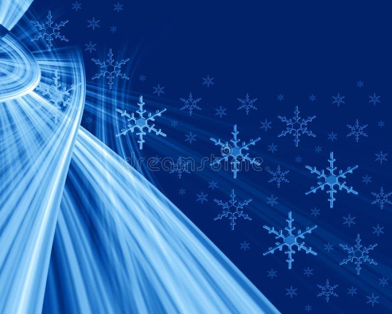Christmas abstract vector illustration