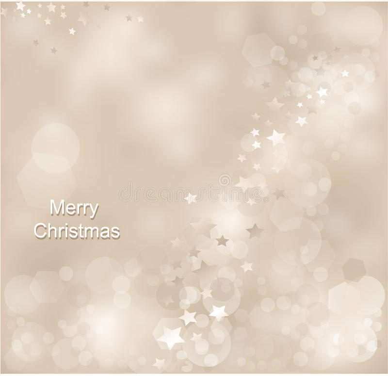 The Christmas Abstract  Background Royalty Free Stock Image