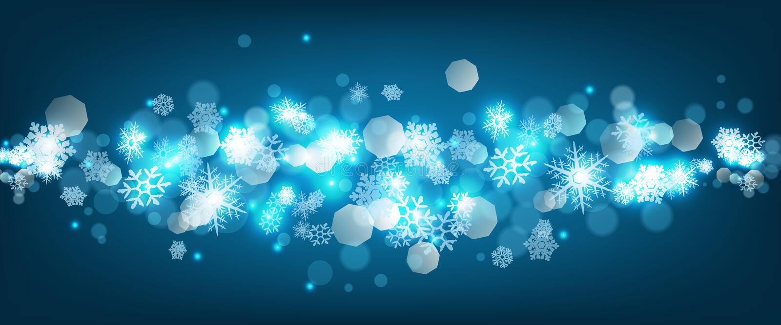 Christmas abstract background royalty free illustration
