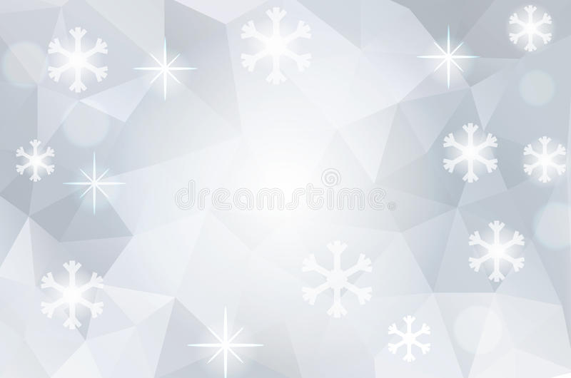 Download Christmas Abstract Polygonal Cosmic Background Stock Vector - Image: 35012416