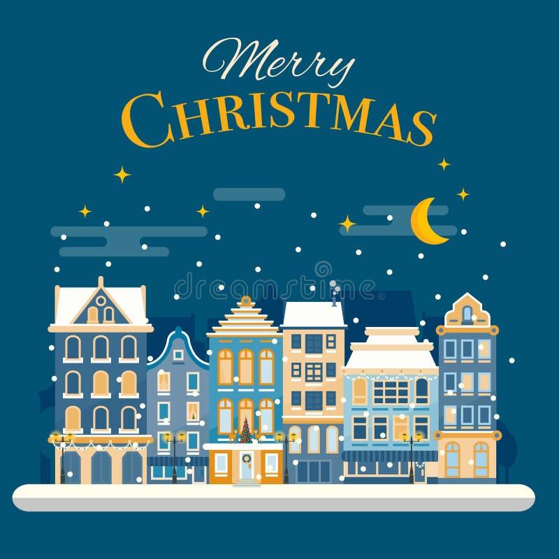 Christmas Advent Calendar Template Vector Xmas Greeting Card La