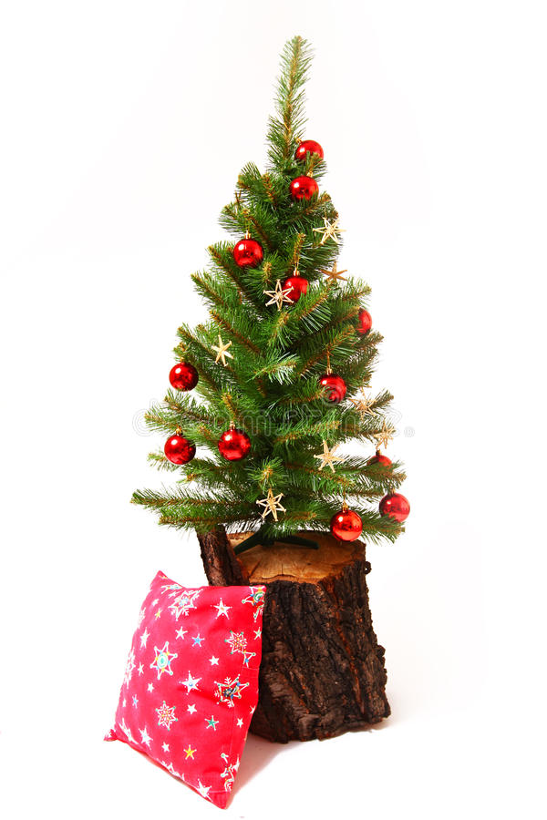 Free Christmas And New Year Tree, Stump Stock Photography - 28013852