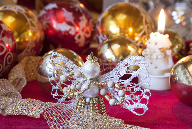 Download Christmas angel stock image. Image of habit, ornamental - 16922475