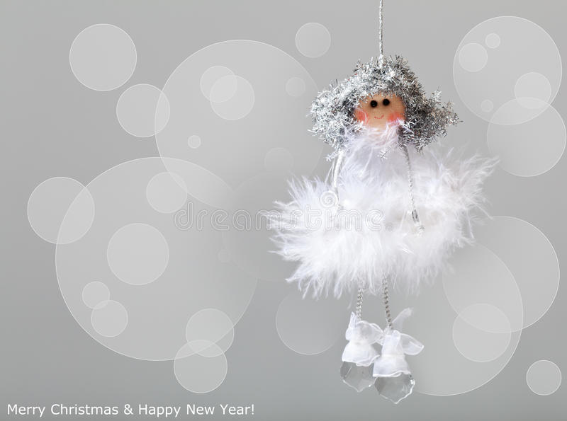 Christmas angel stock images