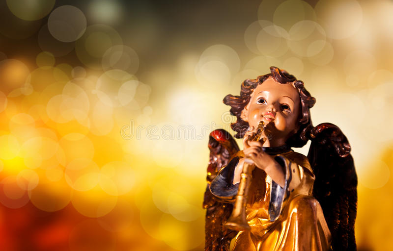 Download Christmas Angel stock image. Image of holiday, gold, closeup - 22351179